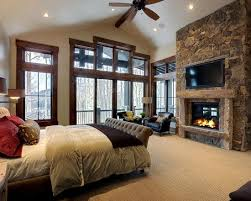 Wonderful Master Bedroom. Love The Fireplace.