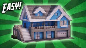 Blueprint of modern survival house. Minecraft Houses The Ultimate Guide Tutorials Build Ideas