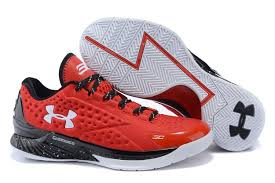 under armour shoes stephen curry 2016. men\u0027s ua stephen curry one low under armour basketball shoes red/white 2016 t