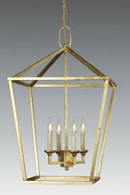 lantern style lighting. Cast Brass Four Light Lantern LL-45 Style Lighting