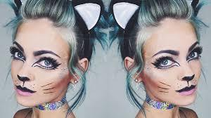 glitter kitty makeup tutorial