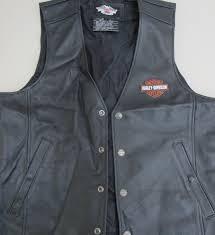 size l harley davidson leather vest