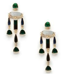 sole society statement chandelier earrings