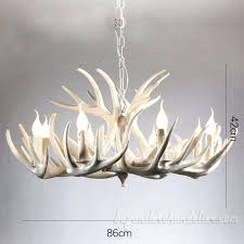 real antler chandelier 9 3 elk pure white antler chandelier nine cascade pendant lights living room real antler chandelier