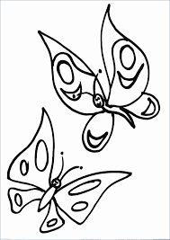 Immagini Da Disegnare A Matita Facili Farfalle Disegni Da Colorare