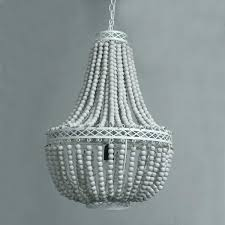beaded globe chandelier white wood chandelier this rustic style princess grace collection chandelier is made from