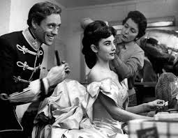 Publicity Photos Of Audrey Hepburn And Husband Mel Ferrer In The