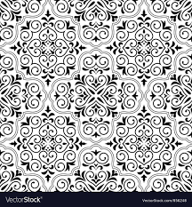 Arabesque Pattern Stunning Arabesque Seamless Pattern Royalty Free Vector Image