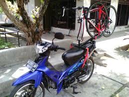 carrier motor. bike carrier roadbike untuk motor (harap baca keterangan)