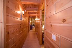 knotty pine paneling tongue and