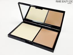 review freedom makeup london pro contour kit in fair swatches