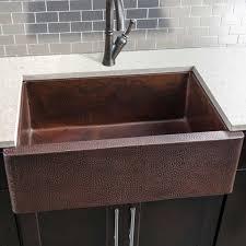 Hahn Copper Single Bowl Farmhouse Sink