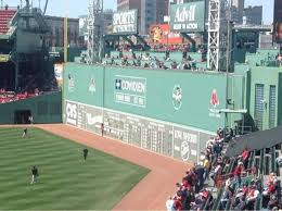 Fenway Park Bleacher Seating Chart Fenway Park Section Bleacher 42 Home Of Boston Red Sox