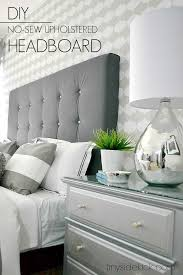 diy upholstered headboard with a high end look concept of queen size headboard