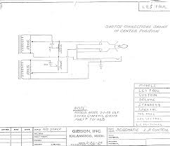 schematics  gibson les paul (2 pick up)