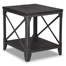end table. Pinebrook End Table - Grey