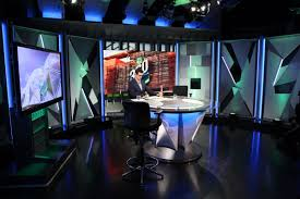 Studio B Design Group Fox Sports Australia Studio B Broadcast Set Design Gallery