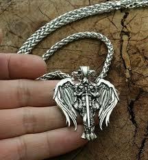 saint st michael archangel wings cross