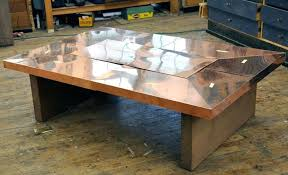 copper coffee table copper coffee table interesting coffee hammered copper top coffee copper coffee table nz