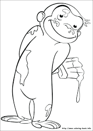 Curious George Coloring Pages Photos Curious Coloring Pages Curious