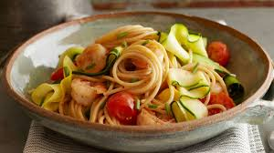 Image result for Skinny Shrimp Piccata with Zoodles