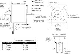 nema size 17 enhanced torque stepper motor schneider electric nema size 17