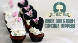 Bride And Groom Cake Topper Hearts Wedding Cake Toppers Fondant