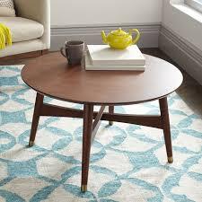 coffee table inspiring round mid century