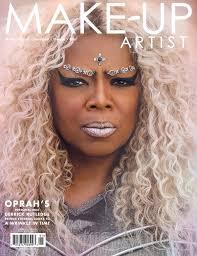 make up artist magazine signing with derrick rutledge