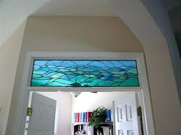 casual large stained glass panels e6310338 stained glass above interior door idea large framed stained glass