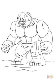 Disegno Di Lego Hulk Da Colorare Disegni Da Colorare E Stampare