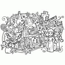 Prinsessen Tekeningen Printen Fris Disney Frozen Puzzel En Schattig