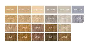 Wella Underlying Pigments Chart Blondor Permanent Liquid Toners Wella Professionals