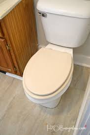 step by step simple tutorial to install a slow close toilet seat to replace a worn