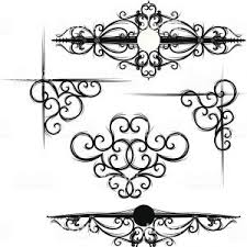 Scroll Border Designs Gothic Scroll And Corner Designs Gm Newwaysys