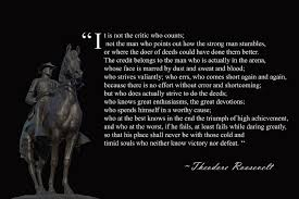 Teddy Roosevelt Famous Quote Man In The Arena Buy Theodore Roosevelt