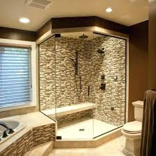 decoration corner bathtub shower appealing small combo remodel ideas
