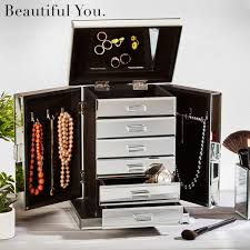 mirrored jewelry box jewelry star