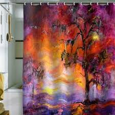 artistic shower curtains. Amazon.com: Shower Curtain Venice At Night (by DENY Designs): Home \u0026 Kitchen | Cool Stuff Pinterest Artistic Curtains
