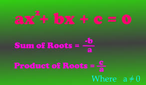 we can find the sum of roots of a quadratic equation without finding its roots below is the lesson plan on the concept