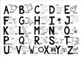 Phonics Alphabet Chart Custom Afrikaans Alfabet Teacha