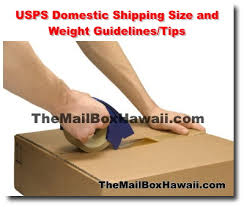 usps package size limitations usps domestic shipping size and weight guidelines the mailbox hawaii