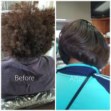 the women in the pictures above came to my salon to get their silk press but you can also do it on yourself if you have the right products hair tools