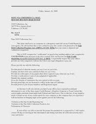 letter format certified mail new ideas collection business letter
