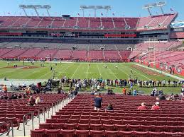 Raymond James Stadium Section 138 Tampa Bay Buccaneers