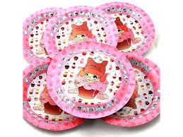 Купить <b>одноразовые</b> тарелки эврику n 31 девочку в пироженом ...