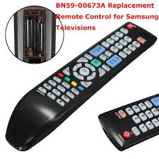 samsung tv remote replacement. bn59-00673a replacement tv remote control for samsung televisions tv o