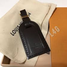 louis vuitton luggage tag. small louis vuitton luggage tag ebene