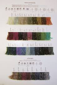 Rowan Fine Tweed Colour Chart Pin By Lynn Bronson On Knitting Tweed Rowan Wool Yarn