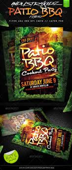 patio bbq party flyer com your template patioflyerpreview